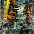 「心の内の葛藤」---神奈川県展出品作品