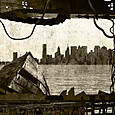 「窓枠の思い」---モミュ個展作品No09
