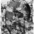 「島の音(ね)II」---ピクセル2010展小品
