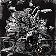 「混迷の島」---「デジタル版画」展作品No.8