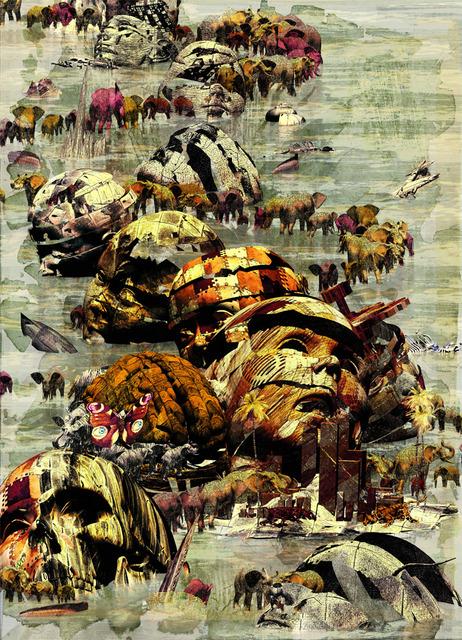 「そらの彼方」---「デジタル版画」展作品No.9