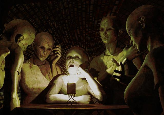 デジタル・デイ展の作品「暗中模索」
