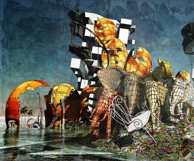「受難」---悠美会展作品2