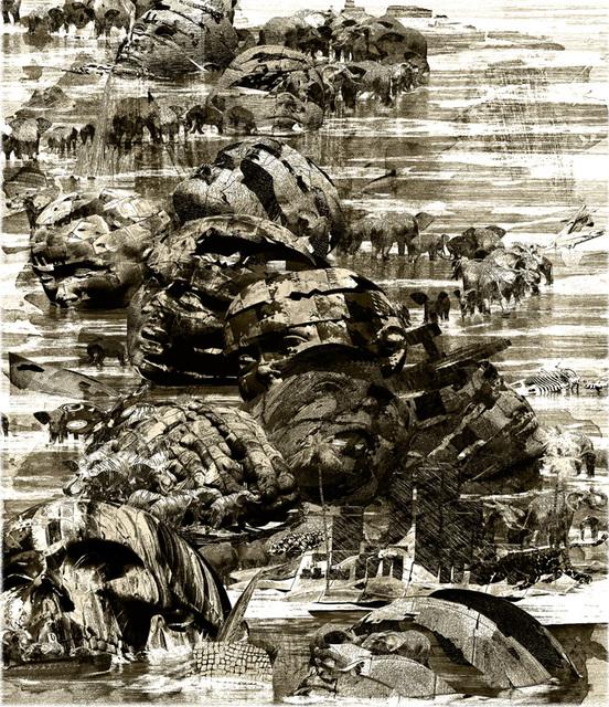 「宙(そら)の彼方」--高知国際版画展入選作品