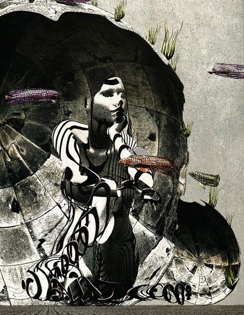 「殻シェルター」---モミュ個展作品No02