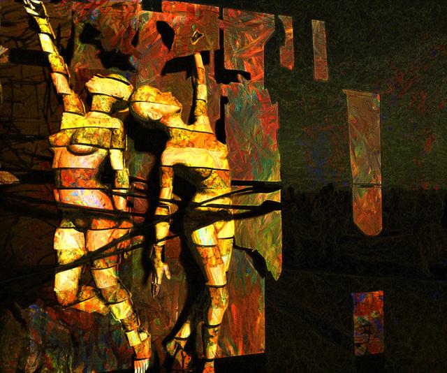 デジタル9人展への出品作品「現在」