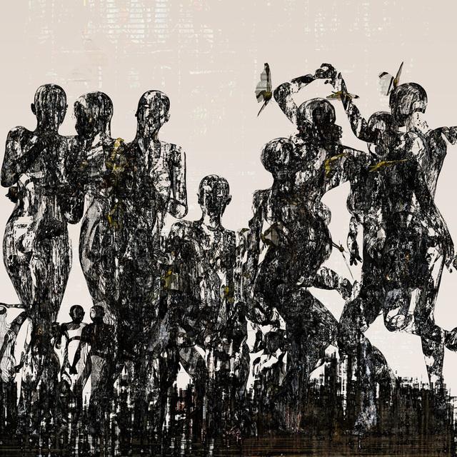 「日常に返る」---「デジタル版画」展作品No.6