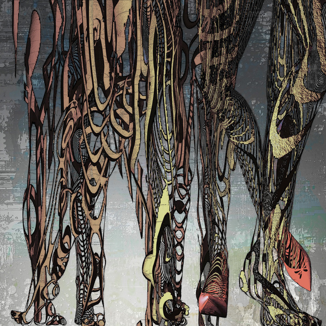 「隙間から臨む世界」---「デジタル版画」展作品No.7