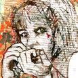 「胸騒ぎ」--小品展(モミュ)作品No.05