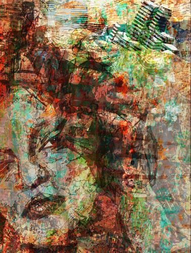デジタルアートX展作品「デジャブー」