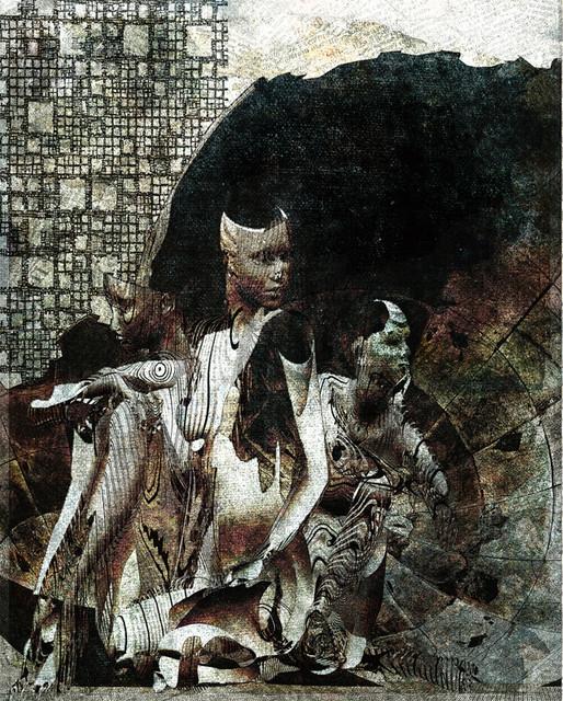 「心の模様」---51神奈川旺玄展入選作品2